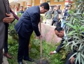 """فيديو.. محافظ القليوبية: بدء لمبادرة """"إزرع شجرة مثمرة"""" لزراعة 1000 شجرة بمدارس المحافظة"""