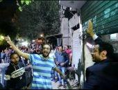 """شاهد.. استقبال أهالى السبتيه لمصطفى شعبان فى أخطر مشهد أكشن """"أبو جبل"""""""