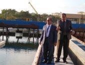 """""""مياه الإسكندرية"""" تجرى أعمال نقل خطوط كوبرى الناموس لتنفيذ محور المحمودية"""
