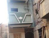 أهالى شارع أبو سعدة بأسيوط يناشدون المحافظ التدخل بعد تصدع منازلهم