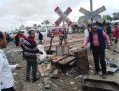 صور.. رئيس حى العامرية يقود حملة مكبرة للانضباط بالشارع غرب الإسكندرية