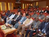"""صور.. """"مميش"""" يلتقى سفراء 20 دولة إفريقية لبحث تعزيز التعاون بمنطقة القناة"""