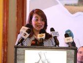 صور.. وزيرة التضامن تشدد على ضرورة الشراكة بين الدولة والقطاع الخاص