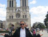 """""""طيفور"""" يشارك """"صحافة المواطن"""" بصورة لزيارته لكنيسة نوتردام التاريخية"""