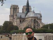 """محمد يشارك """"اليوم السابع"""" بذكريات زيارته لكاتدرائية نوتردام بباريس"""