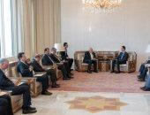 صور.. بشار الأسد يستقبل وزير الخارجية الإيرانى