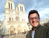"""""""الكاتدرائية فى قلبى مدى الحياة"""".. """"بيتر"""" يشاركنا ذكرياته من داخل نوتردام بباريس"""