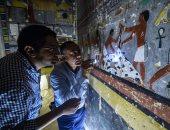 السفارة الأمريكية تهنئ مصر باكتشاف مقبرة عمرها 4300 عام: تحتوى على لوحات مذهلة