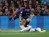 فيديو.. الفار يلغى ركلة جزاء لصالح برشلونة ضد مانشستر يونايتد