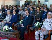 بث مباشر.. الرئيس السيسى يتفقد إجراءات التفتيش بقاعدة محمد نجيب بعد تطويرها