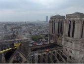 فيديو.. بعد شهرين على الحريق.. إحياء أول قداس فى كاتدرائية نوتردام