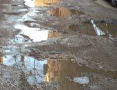 شكوى من تراكم مياه الأمطار بسبب تكسير بشارع عيد مصطفى بفيصل