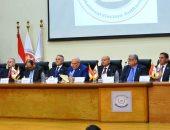 صور.. بدء مؤتمر الوطنية للانتخابات لإعلان نتيجة الاستفتاء بالسلام الوطنى