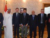 وزير الرياضة يلتقي رئيس الاتحاد الدولي والعربى للدراجات