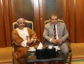 وزير القوى العاملة يلتقى وزيرى عمان والمغرب لتوحيد الرؤى والجهود