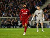 بورتو ضد ليفربول.. محمد صلاح يسجل هدف الريدز الثاني بعد 65 دقيقة