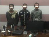 ضبط لصوص سرقوا مدرسة وحطموا كاميرات المراقبة وأشعلوا النار بمكتب المدير