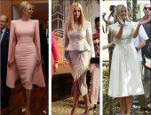 3 فساتين فى يوم واحد.. اعرف أسعار أزياء إيفانكا ترامب خلال زيارتها لساحل العاج