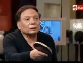 """""""ماتش بينج بونج مع الزعيم"""".. شاهد أشرف عبد الباقى يسترجع ذكرياته مع عادل إمام"""