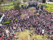 إجراءات مشددة على بوابات جامعة عين شمس قبيل حفل الفنان رامى صبرى