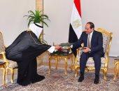 الرئيس السيسى يتسلم رسالة من خادم الحرمين تؤكد على متانة العلاقات التاريخية