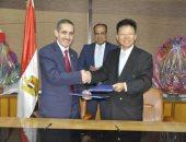 صور.. توقيع عقد المرحلة الثانية لإنشاء معهد الاستزراع السمكى بجامعة قناة السويس