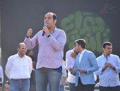 """تنسيقة شباب الأحزاب والسياسيين تحث طلاب """"عين شمس"""" بالمشاركة بالاستفتاء"""