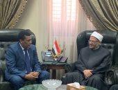 """سفير إثيوبيا لمفتى الديار المصرية: علاقتنا """"روحية"""".. ونهدف لتعزيز التعاون الدينى"""