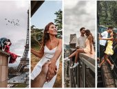 هوس اللايكات على السوشيال ميديا.. انتقادات لمدونين يخاطران بحياتهما من أجل التقاط الصور.. أمريكيان يتبادلان القبلات على حافة البنايات الشاهقة لإعجاب الآلاف.. وآخران يغامران بالتصوير على باب قطار متحرك..صور