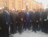 صور.. وزير الأوقاف والمفتى ومحافظ القاهرة يفتتحون تطوير ساحة السيدة زينب