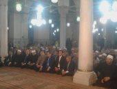 بدء احتفال وزارة الأوقاف بليلة النصف من شعبان وسط حضور شعبى ورسمى