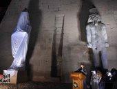 باحثة أمريكية ترد على المشككين فى ترميم تمثال رمسيس الثانى فى الأقصر