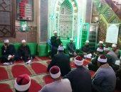 صور.. سكرتير عام سوهاج يشهد احتفالية الأوقاف بمسجد العارف