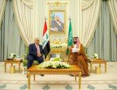 رئيس وزراء العراق يجتمع مع ولى العهد السعودى فى الرياض