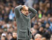 جوارديولا يكشف موقف نجم مانشستر سيتي من المشاركة ضد يونايتد