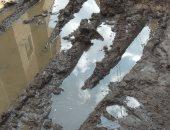شكوى من انتشار مياه المجارى بقرية بانوب بالدقهلية منذ 5 أيام