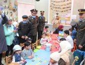 القوات المسلحة تنظم زيارة لعدد من طلبة الكليات العسكرية والمعهد الفنى لمستشفى 57357