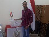 خلال التصويت فى الاستفتاء.. سويلم من القنصلية المصرية بالأردن: بحبك يا مصر