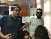 صور.. المصريون فى أبو ظبى يشاركون فى الاستفتاء على الدستور