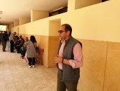 صور.. مدير المنتخب يدلى بصوته فى الاستفتاء على التعديلات الدستورية