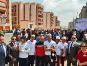 صور.. أهالى الأسمرات ينظمون مسيرات حاشدة للدعوة للمشاركة فى الاستفتاء