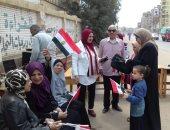 """وفد """"الوطنية للانتخابات"""" تتفقد سير عملية الاستفتاء بالقاهرة الجديدة"""