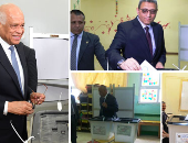 رئيس البرلمان ونواب المجلس يشاركون فى الاستفتاء على التعديلات الدستورية