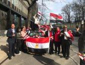 صور.. انطلاق اليوم الثانى للاستفتاء على تعديلات الدستور فى قنصلية مصر بنيويورك