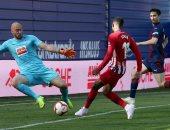 أتلتيكو مدريد يتخطى إيبار بصعوبة ويقلص الفارق مع برشلونة فى الليجا.. فيديو