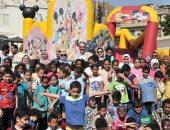 السفارة السعودية تقيم احتفالية للأطفال الأيتام بحضور السفير أسامة نقلى