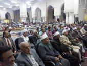 آلاف الصوفيين يحتفلون بالليلة الختامية لمولد سيدى عبد الرحيم القنائى