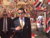 فيديو.. وزير التعليم العالى يدلى بصوته فى الاستفتاء على التعديلات