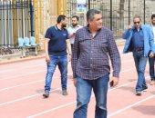 مجاهد و عزام يتفقدان العمل بملاعب القاهرة استعداداً لأمم أفريقيا