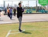 صور.. اللجنة المنظمة لأمم أفريقيا تتفقد ملعب إيرو سبورت